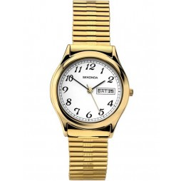 Sekonda Mens Gold Plated Watch 3924