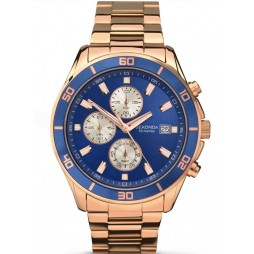 Sekonda Gents Chronograph Analogue Blue Dial Watch 1141