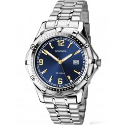 Sekonda Mens Silver Watch 1159