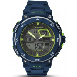 Sekonda Mens Blue Digital Watch 1162.05