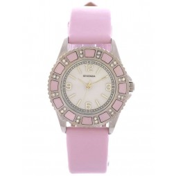 Sekonda Ladies Pink Strap Watch 4901