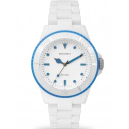 Sekonda Ladies White Plastic Bracelet Watch 4772