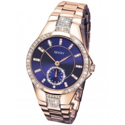 Sekonda Ladies Seksy Rose Gold Plated Watch 2183