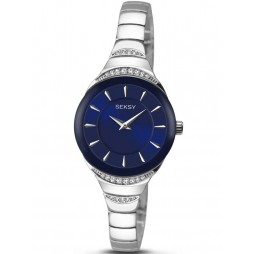 Sekonda Ladies Seksy Stainless Steel Stone Set Bracelet Watch 2293.37