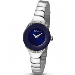 Sekonda Ladies Seksy Stoneset Blue Dial Bracelet Watch 2294.37