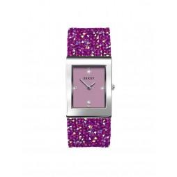 Sekonda Ladies Seksy Rocks Pink Swarovski Crystal Bracelet Watch 2856 ADV '19