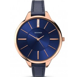 Sekonda Ladies Blue Strap Watch 2144