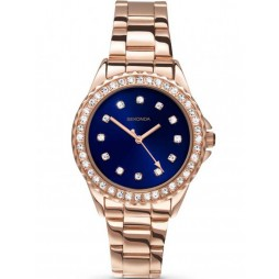Sekonda Ladies Rose Gold Plated Watch 2205