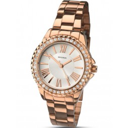 Sekonda Ladies Rose Gold Watch 2358