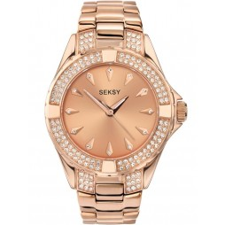 Sekonda Ladies Seksy Intense Rose Watch 4669