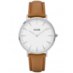 Cluse La Boheme Brown Strap Watch CL18211