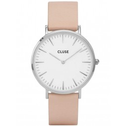 Cluse La Boheme Pink Strap Watch CL18231