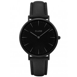 Cluse La Boheme Full Black Strap Watch CL18501