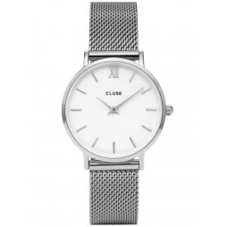 Cluse Minuit Mesh Bracelet Watch CL30009