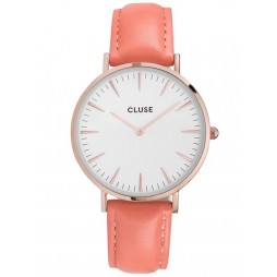 Cluse La Boheme Flamingo Pink Limited Edition Strap Watch CL40103