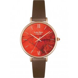 Lola Rose Ladies Magnesite Brown Strap Watch LR2018