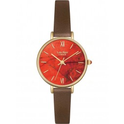 Lola Rose Ladies Magnesite Brown Strap Watch LR2034