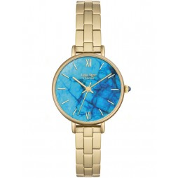 Lola Rose Ladies Blue Magnesite Stainless Steel Bracelet Watch LR4010