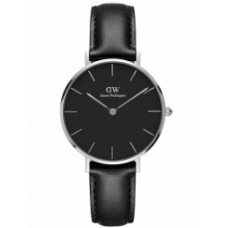 Daniel Wellington Ladies Classic Petite Black Sheffield Watch DW00100180
