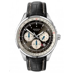 Sekonda Mens Chronograph Watch 3408