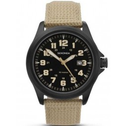 Sekonda Mens Military Style Strap Watch 1368