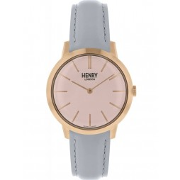Henry London Ladies Iconic Pink Watch HL34-S-0228