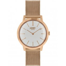 Henry London Ladies Iconic Rose Gold Watch HL34-M-0230