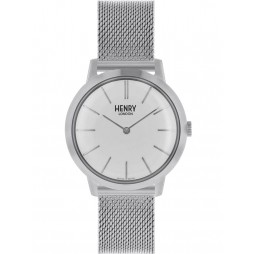 Henry London Ladies Iconic Silver Watch HL34-M-0231