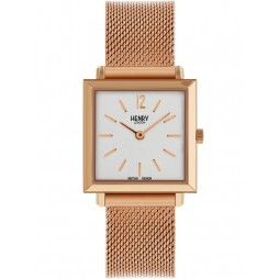 Henry London Heritage Square Bracelet Watch HL26-QM-0264