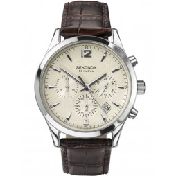 Sekonda Mens Chronograph Strap Watch 3487
