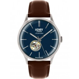 Henry London Mens Heritage Blue Watch HL42-AS-0277