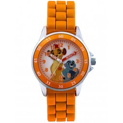 Disney Kids Time Teacher Lion Guard Orange Watch LGD3207