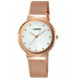 Lorus Ladies Rose Gold Plated Watch RG266JX9
