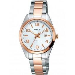 Lorus Ladies Two Tone Watch RJ298AX9