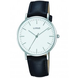 Lorus Mens Classic Black Watch RH887BX9