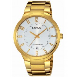 Lorus Mens Gold Plated Watch RS976BX9