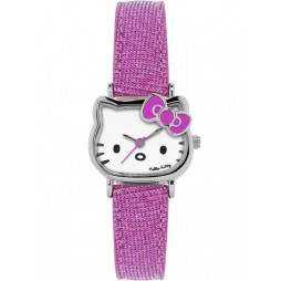 Hello Kitty Kids Pink Bow Strap Watch HK004