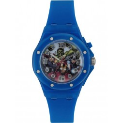 Disney Kids Avengers Blue Strap Watch AVG3501