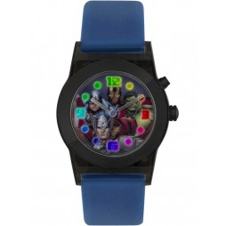 Disney Kids Avengers Flashing Blue Watch AVG3509