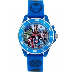 Avengers Kids Blue Light Up Watch AVG3506