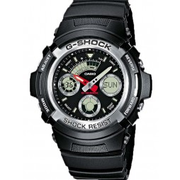 Casio Mens G-Shock Watch AW-590-1AER