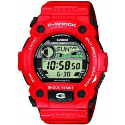 Casio G-Shock Limited Edition Digital Red Plastic Strap Watch G-7900A-4ER