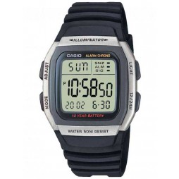 Casio Mens Digital Chronograph Watch W-96H-1AVES