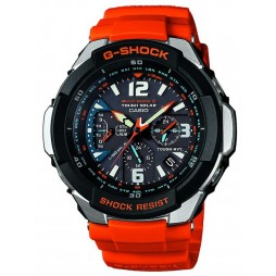 Casio G-Shock Master Of G Air Gravitymaster Orange Plastic Strap Watch GW-3000M-4AER