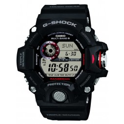 Casio G-Shock Master Of G Rangeman Solar Digital Black Plastic Strap Watch GW-9400-1ER