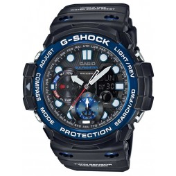 Casio G-Shock Master Of G Sea Gulfmaster Black Plastic Strap Watch GN-1000B-1AER