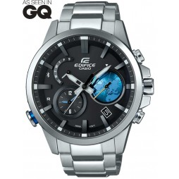 Casio Mens Edifice Chronograph Bluetooth Bracelet Smartwatch EQB-600D-1A2ER