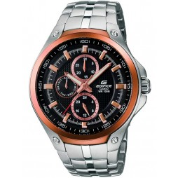 Casio Mens Edifice Two Tone Bracelet Watch EF-326D-1AVUEF