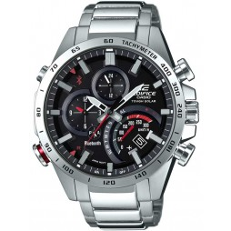 Casio Edifice Mens Red Bracelet Smartwatch EQB-501XD-1AER