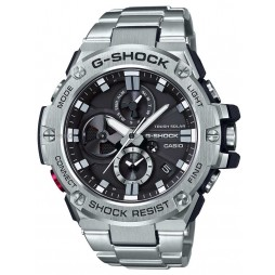 Casio G-Shock G-Steel Solar Dual Display Black Bracelet Smartwatch GST-B100D-1AER